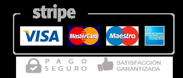 Logo stripe pago seguro